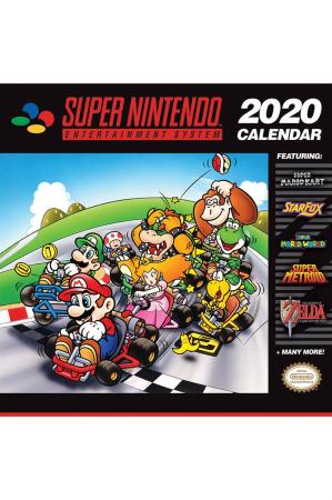 Super Nintendo, Kalender 2020