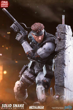 First4Figures - Metal Gear Solid (Solid Snake) RESIN Statue Figures