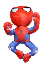 Marvel, Spiderman Plüschfigur 30 cm, Climbing