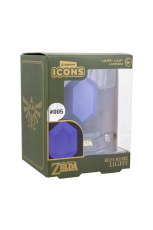 Zelda, Blue Rupee Icon Light