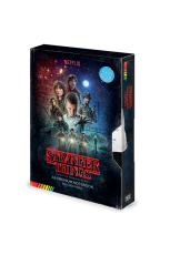 Stranger Things, VHS A5 Premium Notizbuch Season One