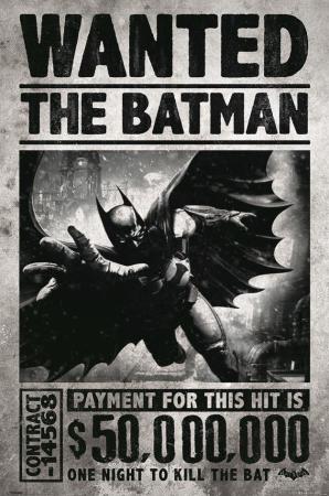 DC Comics, Batman Arkham Origins (Wanted) Maxi Poster