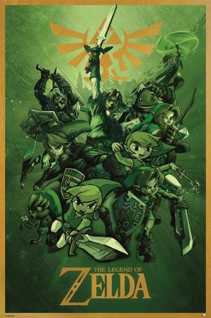 Nintendo, The Legend Of Zelda (Link) Maxi Poster