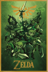 Nintendo, The Legend Of Zelda (Link) Maxi Poster