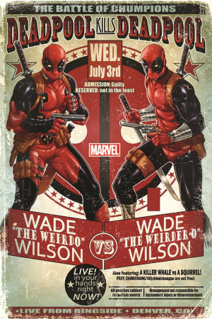 Marvel, Deadpool (Wade Vs Wade) Maxi Poster