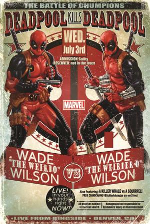 Marvel, Deadpool (Wade Vs Wade) Maxi Poster