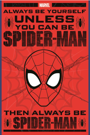 Marvel, Spiderman (Always Be Yourself) Maxi Poster