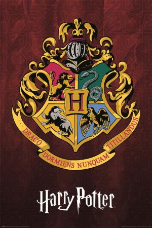 Harry Potter, Hogwarts School Crest Maxi Poster