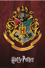 Harry Potter, Hogwarts School Crest Maxi Poster