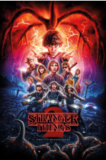 Netflix, Stranger Things (One Sheet Season 2) Maxi Poster