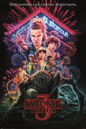 Netflix, Stranger Things (Summer Of 85) Maxi Poster