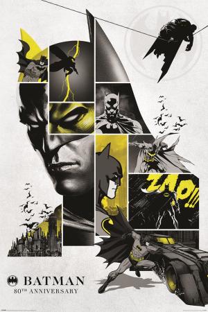 DC Comics, Batman (80th Anniversary) Maxi Poster