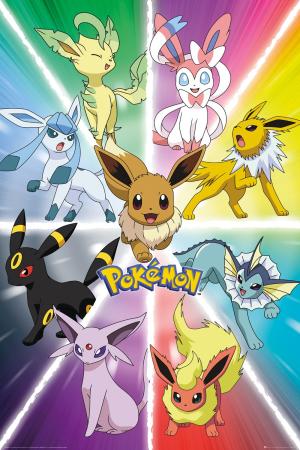 Pokemon, Eevee Evolution Maxi Poster