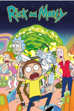 Rick And Morty, Group Maxi Poster