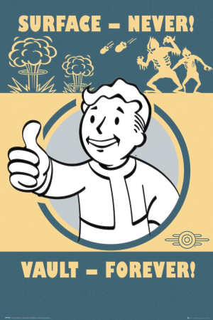 Fallout 4, Vault Forever Maxi Poster