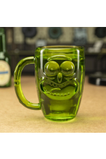 Rick and Morty Glas - Pickle Rick Stein