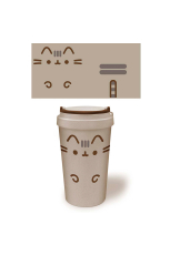 Pusheen Reisebecher -  Eco Mug