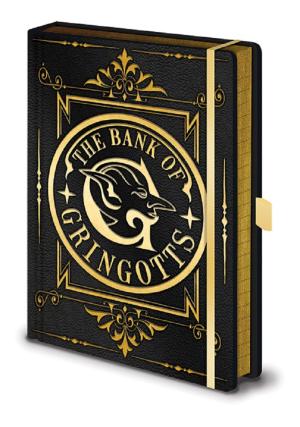 Harry Potter Premium Notizbuch - Gringotts Wappen