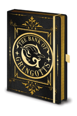 Harry Potter Premium Notizbuch - Gringotts Wappen