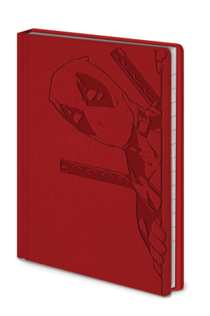 Deadpool Mini Notizbuch - Peek A Boo A6 Pocket Premium