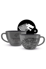 Game Of Thrones Tasse - Stark Cappucino Mug