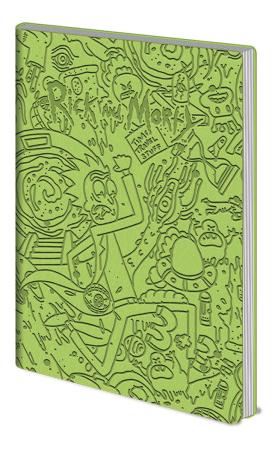 Rick and Morty Notizbuch - Portal Dash