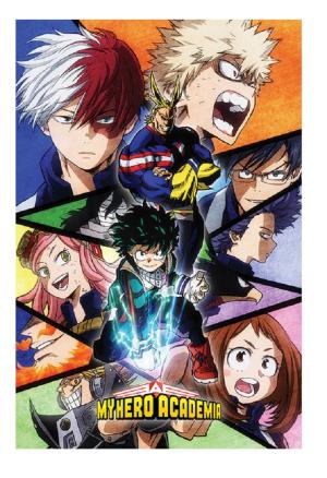 My Hero Academia Poster - Characters Blitz