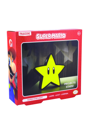 Nintendo, Super Star with Projection Lampe/Light