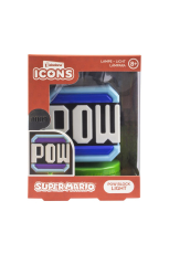 Nintendo, Super Mario  POW  Block Icon Lampe/Light