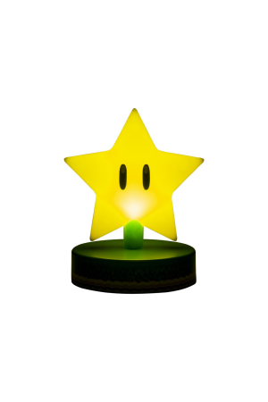 Nintendo, Super Mario Super Star Icon Lampe/Light