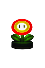 Nintendo, Super Mario Fire Flower Icon Lampe/Light