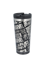 Marvel, Logo Coffe To Go Becher STAINLESS STEEL 425ml