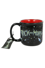 Rick & Morty, Retro Tasse / Mug 420ml