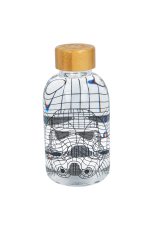 Star Wars, Storm Trooper Glasflasche / GLASS...