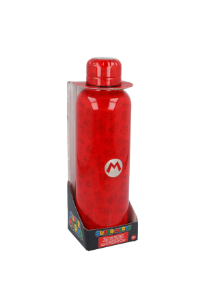 Nintendo, Super MarioStainless Steel Flasche / Bottle 515ml Stainless Steel