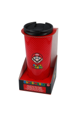 Nintendo, Super Mario Coffe To Go Becher STAINLESS STEEL 425ml