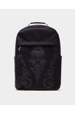 Assassins Creed Valhalla - Black Screen Printed Rucksack