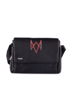 Watch Dogs: Legion - Messenger Bag With Patches