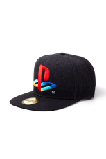 Playstation - Logo Denim Snapback Cap
