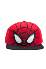 Spider-man - 3D Snapback Cap with Mesh Eyes