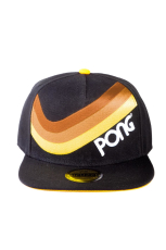 Atari - Pong Retro Striped Snapback Cap