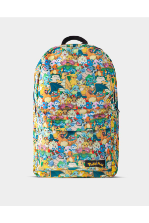 Pokémon -Characters All Over Printed Rucksack