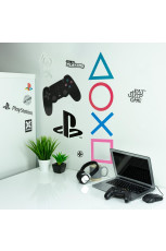 Sony, Playstation - Wall Decals / Aufkleber