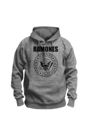 Ramones, Presidential Seal Hoodie [Grey]